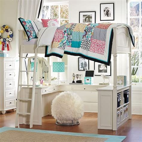 Pottery Barn White Loft Bed With Desk by 10 Best Loft Beds With Desk Designs Decoholic