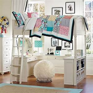 10 best loft beds with desk designs decoholic for Chelsea vanity loft bed cheap
