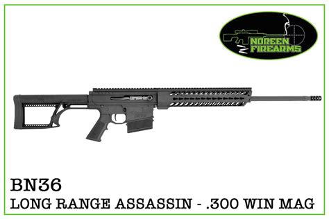 noreen firearms bn36 range assassin magnum 300 win mag rifle