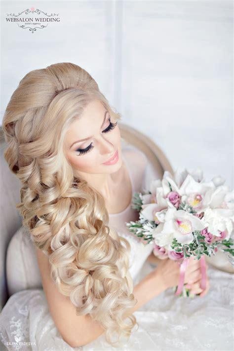 glamorous wedding hairstyles youll love belle  magazine