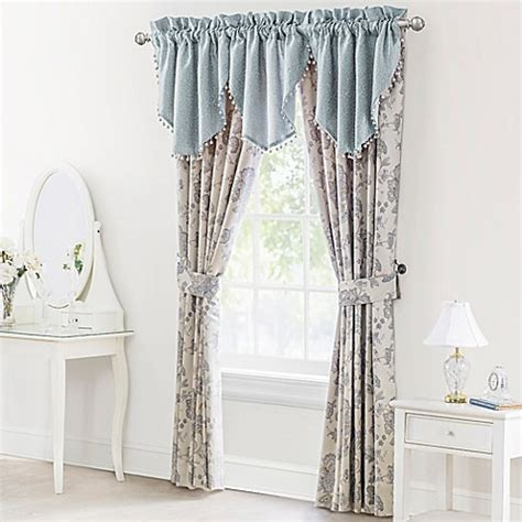 Waterford Drapes - waterford 174 linens valerie window curtain panel pair and