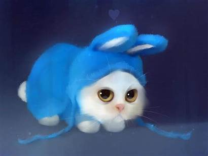 Wallpapers Desktop Background Backgrounds Bunny Cat Rabbit