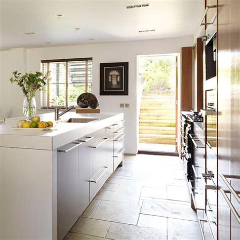 soft flooring for kitchen soft grey kitchen with limestone tiles working 5588