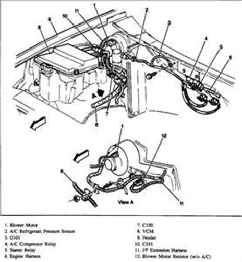 2004 trailblazer blower motor wiring diagram engine