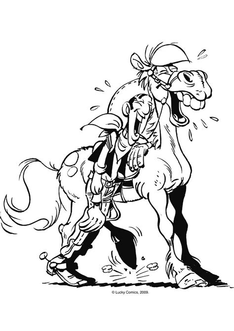 Kleurplaat De Daltons by Lucky Luke Coloring Pages Coloring Home