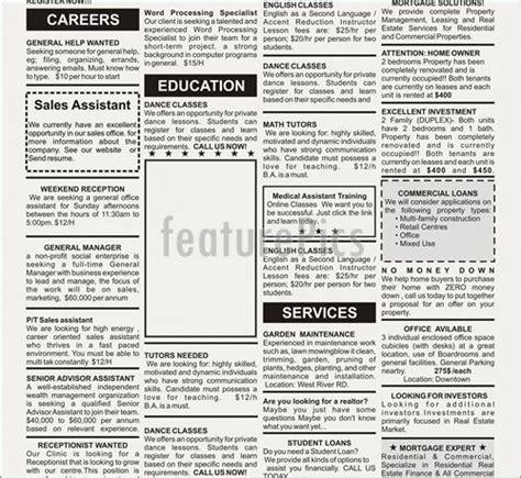 Newspaper Advertisement Template  Best Business Template