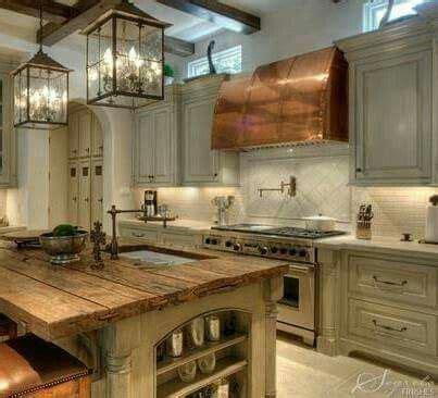 copper top kitchen island 1000 ideas about grey kitchen island on gray 5805