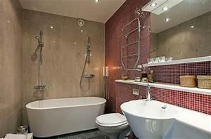 Feuchtraumtapete Fürs Bad : bad mit mosaikfliesen 34 interessante ideen ~ Sanjose-hotels-ca.com Haus und Dekorationen