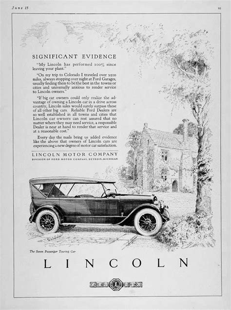 classiclincolnscom lincoln model