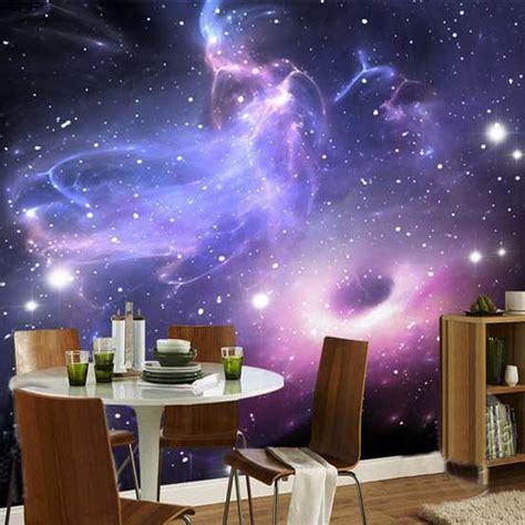 custom mural  room wallpaper european style galaxy cloud