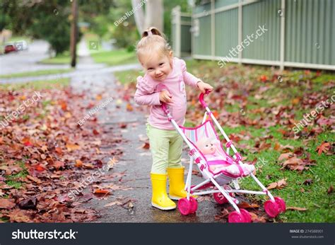 Happy Cute Child Adorable Toddler Baby Stock Photo