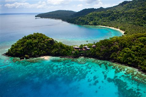 a tropical island in fiji laucala island swain destinations travel blog
