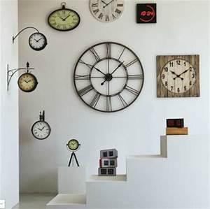 Horloge Pas Cher : horloge murale 101 5 cm de diam tre myron big horloge alinea ventes pas ~ Teatrodelosmanantiales.com Idées de Décoration