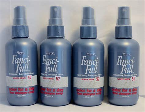 Roux Fanci Full Temporary Hair Color Rinse White Minx 52 4oz