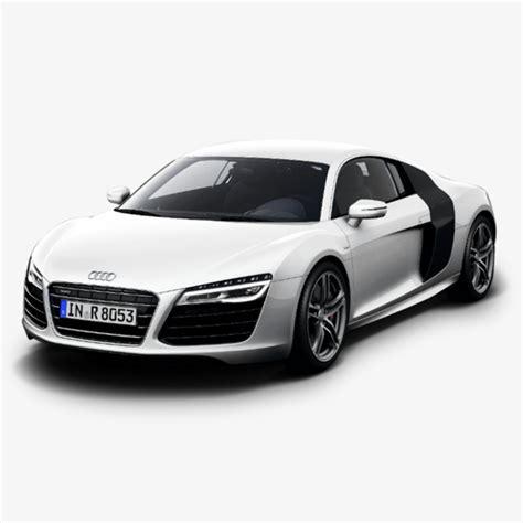 Audi Car,white,car,audi R8, Audi Car, White, Car Png Image