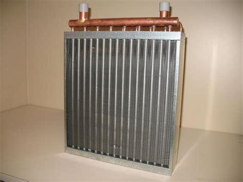 water  air heat exchangers  installing outdoor wood