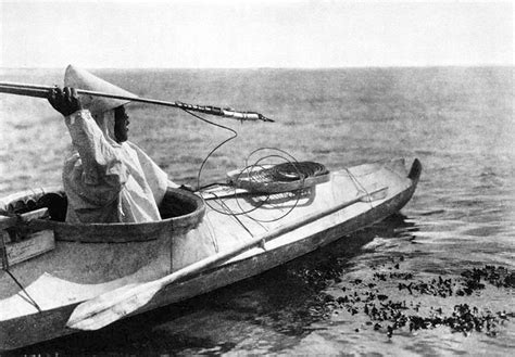 Eskimo Boat by The Inuit