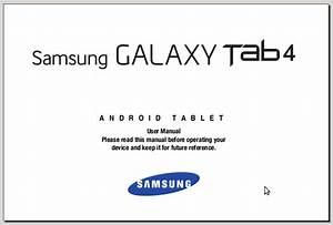 Samsung Galaxy Tab 4 7 0 Sm-t230 Manual Pdf