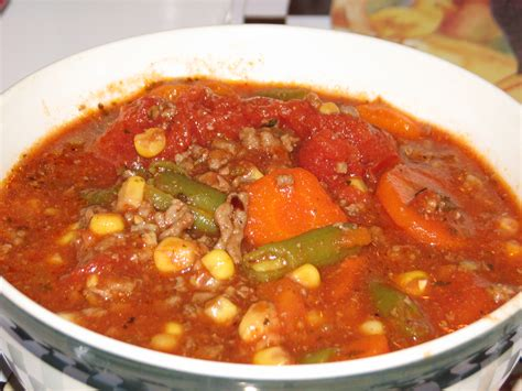 what all can i make with hamburger cure all hamburger soup the pink bunny cafe
