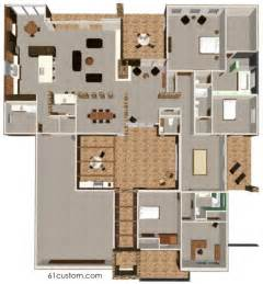 house plans with courtyards modern courtyard house plan