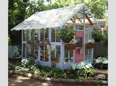 10+ Greenhouses Made From Old Windows and Doors Home