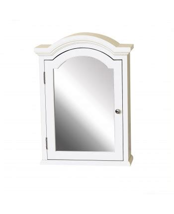 Arched Medicine Cabinet by Arched Crown Pediment Medicine Cabinet Zenith Home Corp