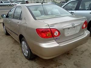 Direct Tokunbo Toyota Corolla 2004 Model  1 2m Lagos Ikeja