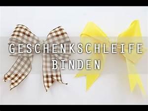 Geschenk Schleife Binden : geschenkschleife binden anleitung youtube ~ Orissabook.com Haus und Dekorationen