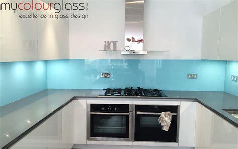 Yellow And White Kitchen Ideas - kitchen glass splashbacks in uk at mycolourglass