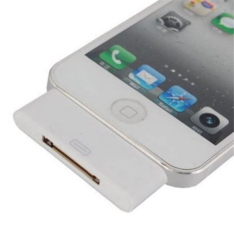 ihome adapter for iphone 6 30 pin to 8 pin 3 5mm audio support adapter for iphone 5