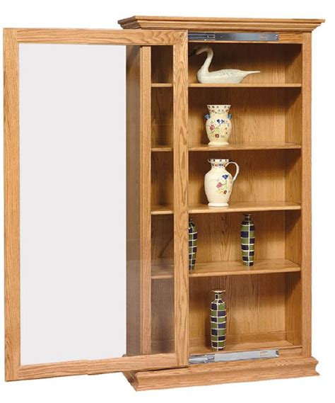 bookcases with sliding glass doors amish sliding door large bookcase