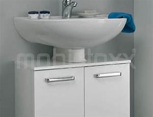 meuble sous lavabo willy 2 portes largeur 50 cm blanc With meuble sous lavabo ancien 6 forgiarini
