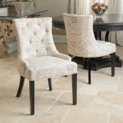 dining room script chair for cozy canada christopher home hayden tufted hazulin