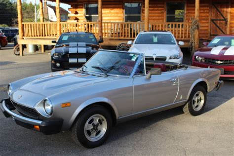 1980 Fiat Spider For Sale by 1980 Fiat Spider 2000 Pininfarina Classic Fiat Other