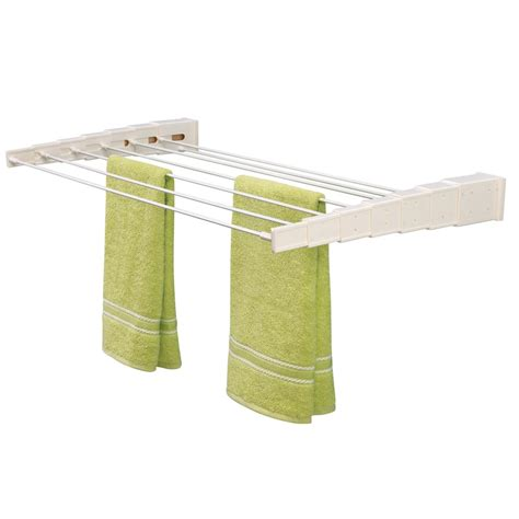 wall mounted drying rack wall mounted wooden expandable clothes drying rack urban clotheslines