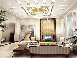 Latest Pop In Living Hall Ceiling Home bo