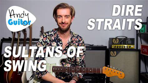 Sultans Of Swing Guitar Tutorial