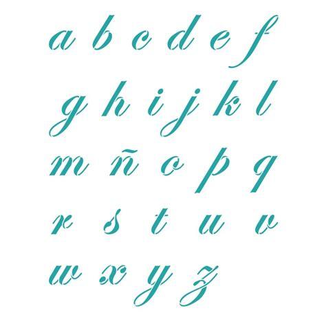 letra cursiva abecedario imagui