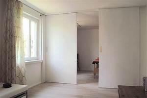 Wand Einziehen Mit Tur Trennwand F R Zimmer Tragende Wand