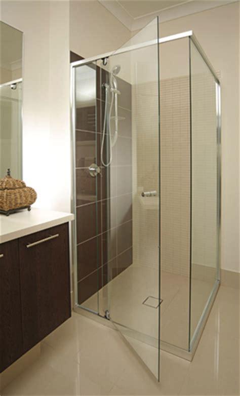 custom made semi frameless shower screens in adelaide