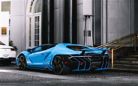 Download Wallpapers Lamborghini Centenario, 4k, Supercar