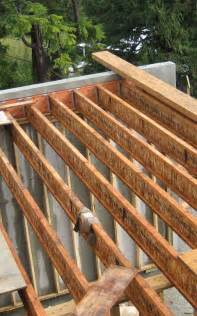 floor framing with tji joists connected to an lvl ledger