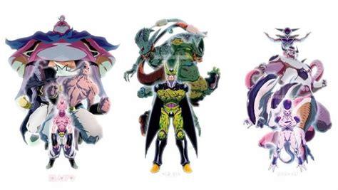 Anime Dragon Ball Tap 1 Dragonball Z Villain Transformations Anime Love