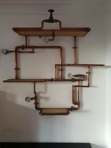 Handmade, Copper, Pipe, Shelves, In, E13, Newham, For, U00a3150, 00, For, Sale