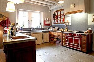 emejing salle de bain rustique chic pinterest gallery With cuisine equipee style campagne