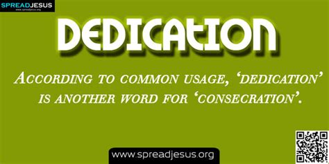 dedication meaning  dedication biblical definition