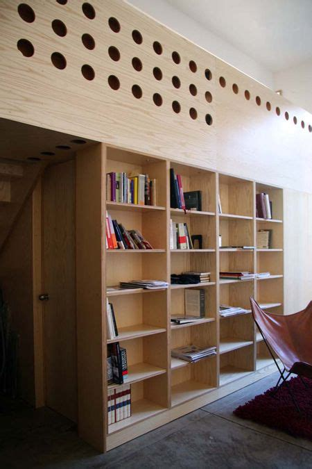 Plywood Bookcase by Plywood Bookcase Architecture Interior Design