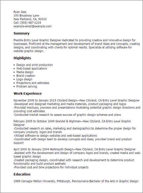 entry level design professional entry level graphic designer templates to