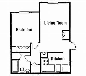 beautiful simple one bedroom house plans for hall kitchen With simple house plan with 1 bedrooms