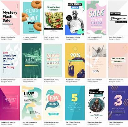 Instagram Stories Easil Templates Story Planoly Template